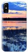 Sunset On Porcupine Lake IPhone Case