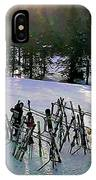 Sunset On The Slopes IPhone Case
