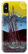 Sunset On The Sound IPhone Case
