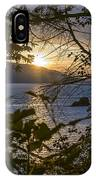Sunset On The Sound2 IPhone Case