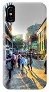 Sunset On The Streets Of Seoul IPhone Case