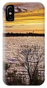 Sunset On The Wetlands IPhone Case