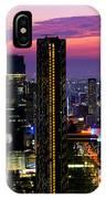 Sunset Over Bangkok IPhone Case