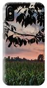 Sunset Over The Plains IPhone Case