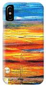 Sunset - Palette Knife Oil Painting On Canvas By Leonid Afremov IPhone Case