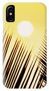 Sunset Palm Fronds IPhone Case