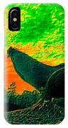 Sunset Rooster IPhone Case