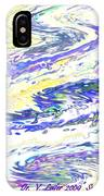 Sunset-sun And Sea Meeting IPhone Case