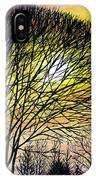 Sunset Tree Silhouette IPhone Case