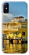 Sunset Villas Hdr IPhone Case