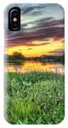Sunset West Crooked Lake IPhone X Case