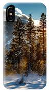 Sunset With Trees IPhone Case