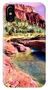 Sunset Zion National Park IPhone Case