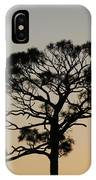 Sunsetting Thru The Trees IPhone Case