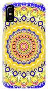 Sunshine And Blue Skies Mandala IPhone Case