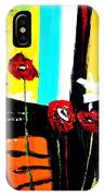 Sunshine And Poppies IPhone Case