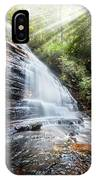 Sunshine At The Waterfall IPhone Case