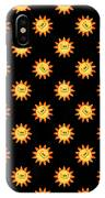 Sunshine Daisy Repeat IPhone Case