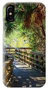Sunshine On The Boardwalks IPhone Case