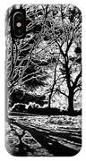 Super Contrasted Trees IPhone Case