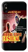 Super Hero Central IPhone X Case