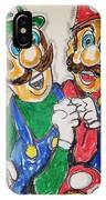 Super Mario Brothers IPhone Case