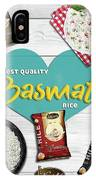 Superior Quality Basmati Rice Importers In New Zealand - Kashish Food IPhone Case