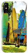 Surfboard Fence II-the Amazing Race IPhone Case