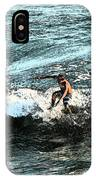 Surfer On Wave IPhone Case