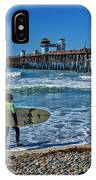 Surfing Today IPhone Case