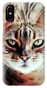 Surreal Cat IPhone Case