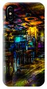 Surreal Old West Bar  IPhone Case