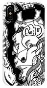 Surrealism Pagan Black And White IPhone Case