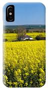 Surrounded By Rapeseed Flowers IPhone Case