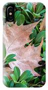 Surrounded Leaf IPhone Case