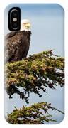 Surveying The Treeline IPhone Case