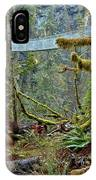 Suspended In The Rain Forest IPhone Case