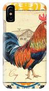 Suzani Rooster 2 IPhone Case