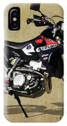 Suzuki Race Motorcycle. 387. IPhone Case