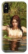 Swamp Beauty Two IPhone Case