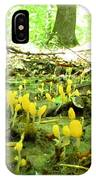 Swamp Becon Fungi IPhone Case