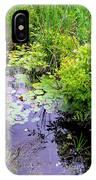 Swamp Plants IPhone Case