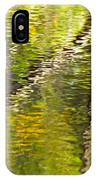 Swamp Reflections Abstract IPhone Case