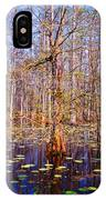 Swamp Tree IPhone Case