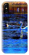 When It Seems Like The Swans Are Ruling The Sea  IPhone X Case
