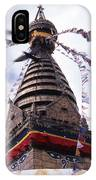 Swayambhunath IPhone Case
