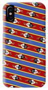 Swaziland Flag 3 IPhone Case