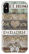 Sweet Paradise Series IPhone Case