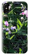 Sweet Pea In Tahoe IPhone Case