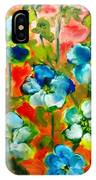 Sweet Peas From Japan IPhone Case